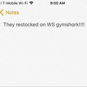 Gymshark WS